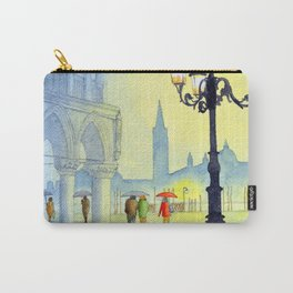 Rainy Evening In St Marks Square Venice Carry-All Pouch