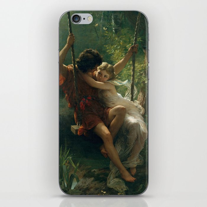 Springtime by Pierre-Auguste Cot 1873, French iPhone Skin