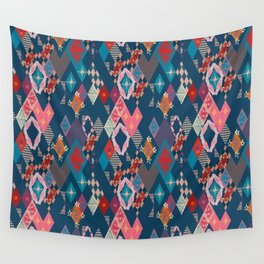Circus_vintage Wall Tapestry