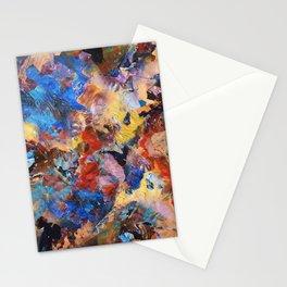 Dark Paint Splash Stationery Cards