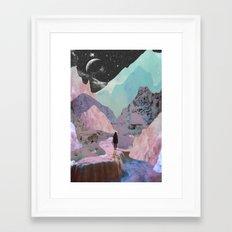 The Mountains of Lemuria Framed Art Print