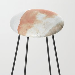 Terra Cotta Hills Abstract Landsape Counter Stool