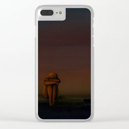 Untitled Life Painting Clear iPhone Case