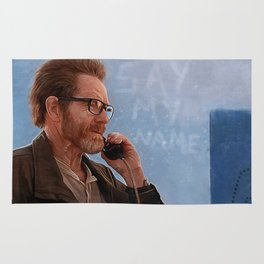 Say My Name - Walter White - Breaking Bad Rug