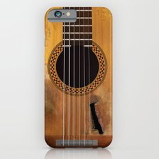 Willie Nelson's Trigger Guitar iPhone 6s Slim Case