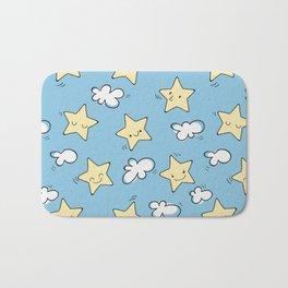 Lovely Star Pattern Bath Mat