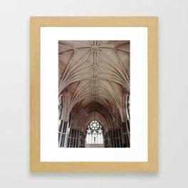 Gothic Church Framed Art Print