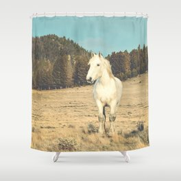 Storms and Light Shower Curtain