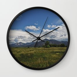 Peace in New Mexico Wall Clock