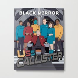 Space Fleet's Finest Metal Print