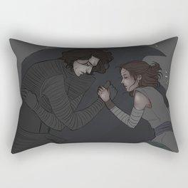 the shadow of needing  Rectangular Pillow