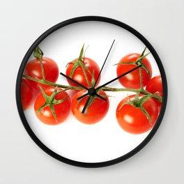 Branch ripe tomato Wall Clock
