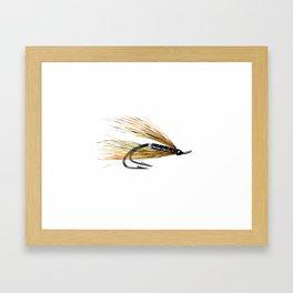 Willie Gunn Fishing Fly Framed Art Print