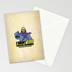 Skeletor - We want you for evil warriors Stationery Cards
