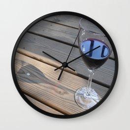 Sweet  Sweet Wine Wall Clock