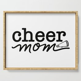 Cheer Mom Serving Tray