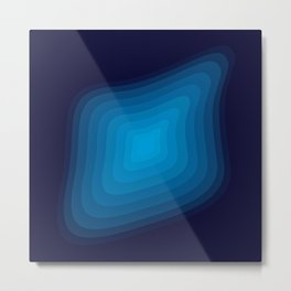 Space blue Metal Print