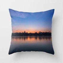 The Lakes, Copenhagen Throw Pillow