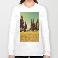 breathe Long Sleeve T-shirts featuring Breathe by ARTbyJWP