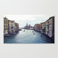 venice Canvas Prints featuring Venice by Rhianna Power