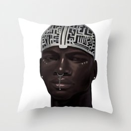 The Silent Brother Throw Pillow