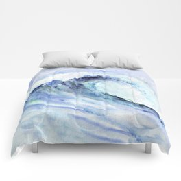 Make Waves I Comforters