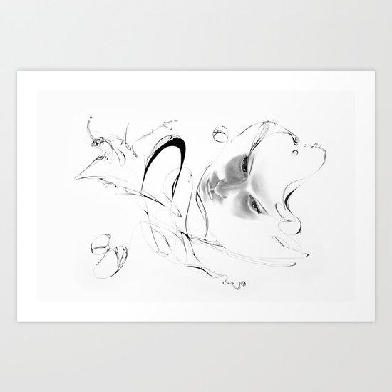 Line 6 Art Print