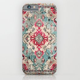 N132 - Heritage Oriental Traditional Vintage Moroccan Style Design iPhone Case