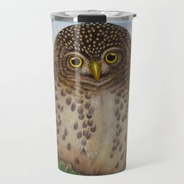 Collared Owlet Travel Mug
