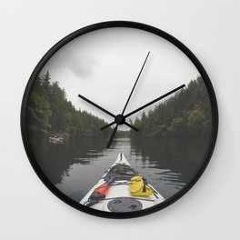 Live the Kayak Life Wall Clock