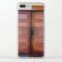 The Doors to the Sanctuary Clear iPhone Case