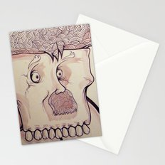 In Your Face Mr. Moustache Stationery Cards