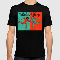 Blades of Glory Black Mens Fitted Tee SMALL