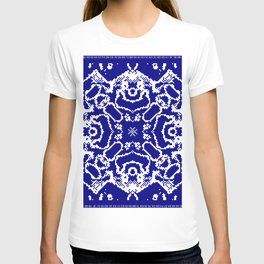 CA Fantasy Deep Blue-White series #7 T-shirt