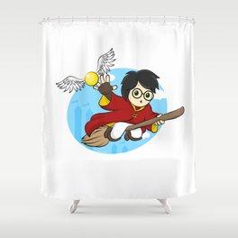 HP - Snitch catcher Shower Curtain