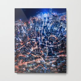 falling into place Metal Print