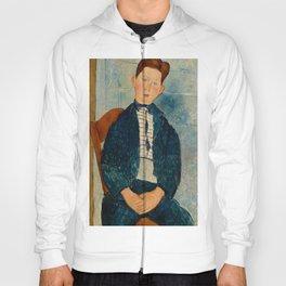 "Amedeo Modigliani ""Boy in a Striped Sweater"" Hoody"
