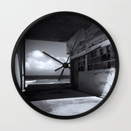 Old New View Wall Clock