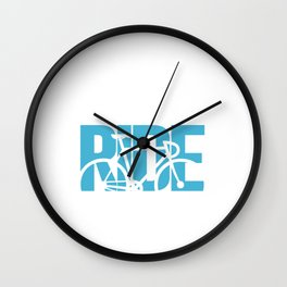You Lost Me at I Don't Ride Funny Graphic T-shirt Wall Clock