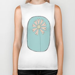 Flowers Have Hearts Biker Tank