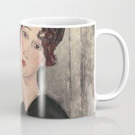 Portrait of Dedie Hayde by Amedeo Modigliani Coffee Mug