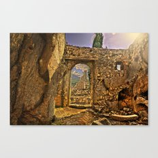Chromatic ruins  Canvas Print
