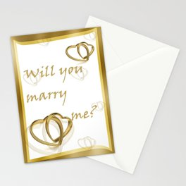 Will you marry me ??? Stationery Cards