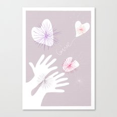 GIVE! Canvas Print