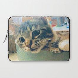 Curious Kitty Laptop Sleeve