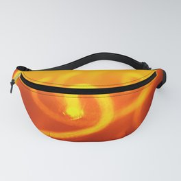 Light trails abstract Fanny Pack