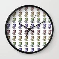 The Take Over Wall Clock