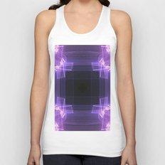 Shades of Purple Unisex Tank Top