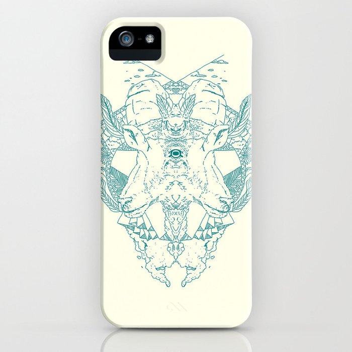 Blind Goat iPhone Case