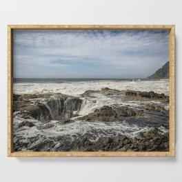 Thor's Well, No. 2 Serving Tray